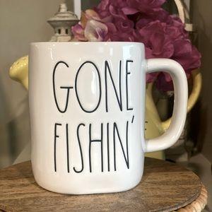 Rae Dunn Gone Fishin' 🎣 Mug
